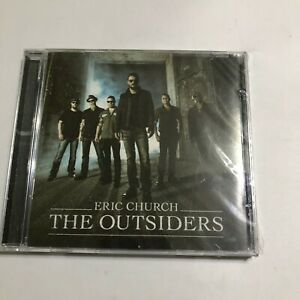 The Outsiders by Eric Church New Sealed CD