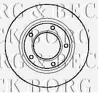 REAR  BRAKE DISCS PAIR FOR LAND ROVER GENUINE OE BORG /& BECK  BBD4085