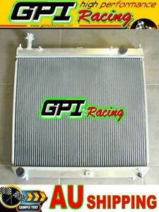 Aluminum radiator for For TOYOTA Hiace SBV Manual MT 1995-2004 96 97 98 99
