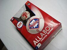 NEW PHILADELPHIA PHILLIES MLB ALL ABOUT TRIVIA GAME 550 QUESTIONS BY FUNDEX 2010