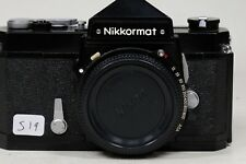Nikkormat Ft Black Paint Rare Model
