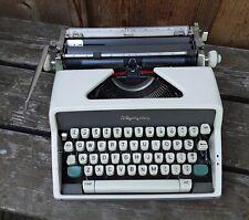Vintage Olympia DeLuxe Manual Typewriter.
