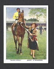 WILLS - RACEHORSES & JOCKEYS 1938 - #2 BLACK SPECK