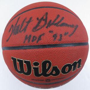 Walt Bellamy Baltimore Bullets Autographed Signed NBA HOF Wilson NCAA Basketball