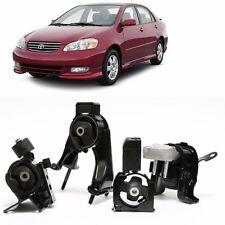 03-08 Toyota Corolla MT Trans Engine Motor Mounts Kit A4219 A4230 A4221 A4218
