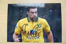 Signed Colour Pictures- RUSSELL MARTIN, Norwich City FC (5x7inch).