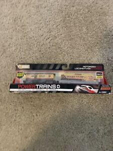 NEW Power Trains CONSTRUCTION ENGINE Motorized Train Jakks