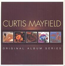 CURTIS MAYFIELD ORIGINAL ALBUM SERIES 5 CD NEW