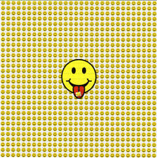 SMILEY FACE TABS BLOTTER ART perforated sheet paper psychedelic art