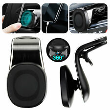 Magnetic Car Phone Holder 360° Rotation Clip Air Vent Mount For iPhone Samsung
