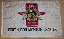Rare HOG 15th Anniversary 5' chapter Flag 1983 1998 signed flhr softail flhtcu