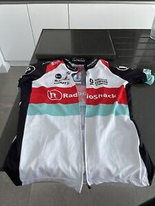 Craft Trek/ Radioshack Racing Fit Cycling Jersey .. Size Large