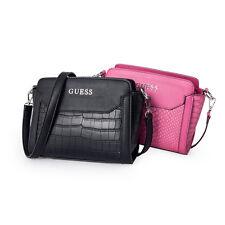 Agata Croc-Embossed Pattern Mini Crossbody Messenger Handbag 2 Colors Bag NWT