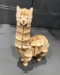 Alpaca Ki-Gu-Mi 3D Wooden Puzzle