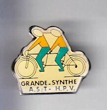 RARE PINS PIN'S .. SPORT VELO CYCLISME CYCLING TANDEM GRANDE SYNTHE 59 ~A4