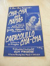 Partition Cha Cha Cha des Nanas Caracolillo Cha Cha Yvette Horner