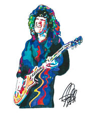 Gary Moore, Singer, Guitarist, Blues Guitar Player, Jazz Fusion, PRINT w/COA 2
