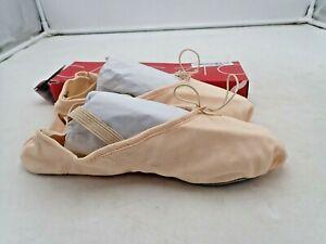 Capezio Women's Canvas Juliet Ballet Shoe,  Light Ballet Pink size 8 & 11 Wide