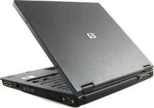 "Intel Dual Core  CHEAP  WIN 7 WIFI DVD 2GB RAM 250GB HDD HP Compaq nc6320 15"""