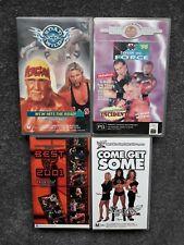 WWF WCW VHS Bulk Lot WWE PPV 1990's Hogan Video Tape Rare Wrestling
