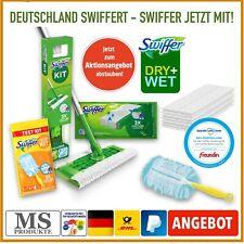 Swiffer Starter-Kit mit 8 Trockentücher & 3 Feuchtwischtücher +Staubwedel gratis