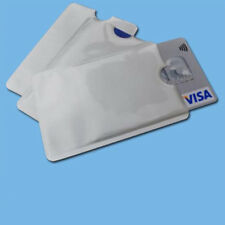 10 Pcs Credit Card Bank Card Protector RFID Blocking Anti-degaussing Cover