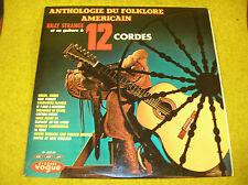 LP BILLY STRANGE-ANTHOLOGY FOLKLORE AMERICAN VOGUE LD 622-30