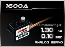 SERVO POWER HD 1,3 kg 0,10 sec.AD ALTA VELOCITA' HIGH SPEED POWER SERVO HD-1600A