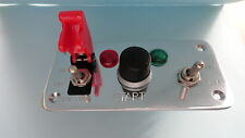 Switch Panel Assembly Complete on/off allumage bouton start + aux Commutateur & les DEL