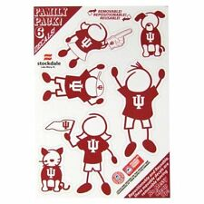 Indiana Hoosiers Family Decal Sticker Set