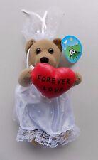 "Peek A Boo Bear Bride "" Forever Love"" 8'' Plush Stuffed Animal"