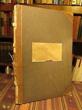 1889 METHODISM IN BEAUFORT North Carolina Rare Handwritten Manuscript History