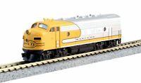 KATO 1762140 N Scale EMD F7A Santa Fe Yellow Bonnet (Freight version) 176-2140