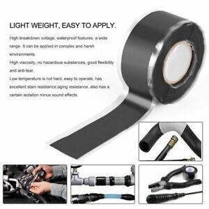1.5M Silicone Tape Self Fusing Plumbers Electricians Pipe Repair Hose Leak Fix