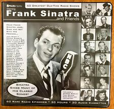Frank Sinatra 60 Greatest Old-Time Radio Shows 20X Cassette Tapes Radio Spirits