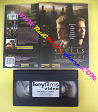 VHS film THE SKULLS I TESCHI 2000 Joshua Jackson Paul Walker KEY (F105) no dvd