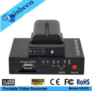 Portable Video recoder Camera Video CVBS HDMI Capture Box DHL free shipping