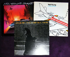 3 Neil Young Lps, After The Gold Rush, Landing On Water, Trans, Ex Vinyl & Cover