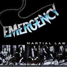 EMERGENCY - Martial Law (NEW*DUTCH HARD ROCK 1989*PICTURE*DEF LEPPARD*SURVIVOR)
