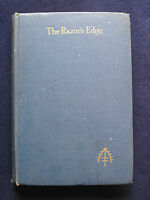 THE RAZOR'S EDGE by W. SOMERSET MAUGHAM - First English Edition