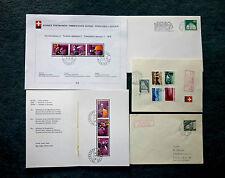 Gestempelte ungeprüfte Briefmarken mit Motiven als Posten & Lots