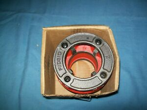 "New RIDGID 37415 12-R Alloy Complete Diehead Manual Right Hand Threader 2"" NPT"