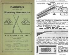 Parker 1928, A.G. & Co. List 11 Shooting Accessories
