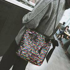 Women Sequins Shoulder Bag Clutch Handbag Fashion Tote Purse Hobo Messenger Bags