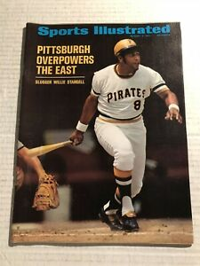 1971 Sports Illustrated PITTSBURGH Pirates PREFONTAINE Clemente STARGELL No Lab