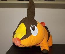 "Rare Large  Tepig Pokemon Plush Doll Toy  Black & White 17"" Toy Factory 2011"