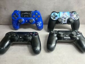LOTTO  CONTROLLER PAD PS4    SONY ORIGINALI PLAYSTATION 4  PER PARTI DI RICAMBI