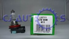 LUCAS H11 LLB711 55w Clear Head light Lamp Fog Car Bulb 12v x1 E1 QUALITY MARKED