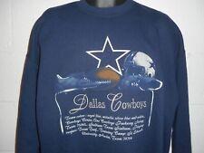 Vintage 90s Nutmeg Dallas Cowboys Embroidered Sweatshirt XL