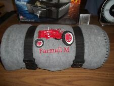FARMALL M Tractor THROW BLANKET COLLECTIBLE BLANKET DECORATIVE BLANKET NEVER USE